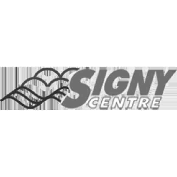 Logo Signy Centre. Pixium