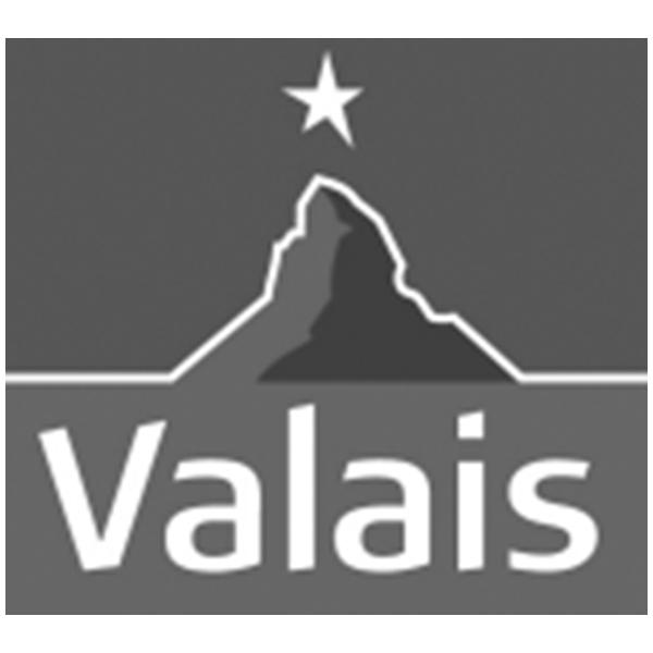 Logo Valais - Wallis. Pixium