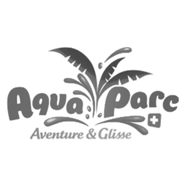 Logo Aqua Parc. Pixium