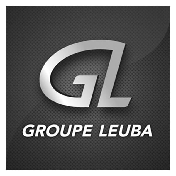 Logo du Groupe Leuba. Pixium